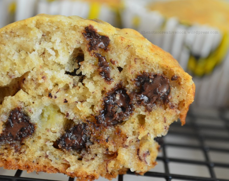 Banana Chocolate Chip Muffin1