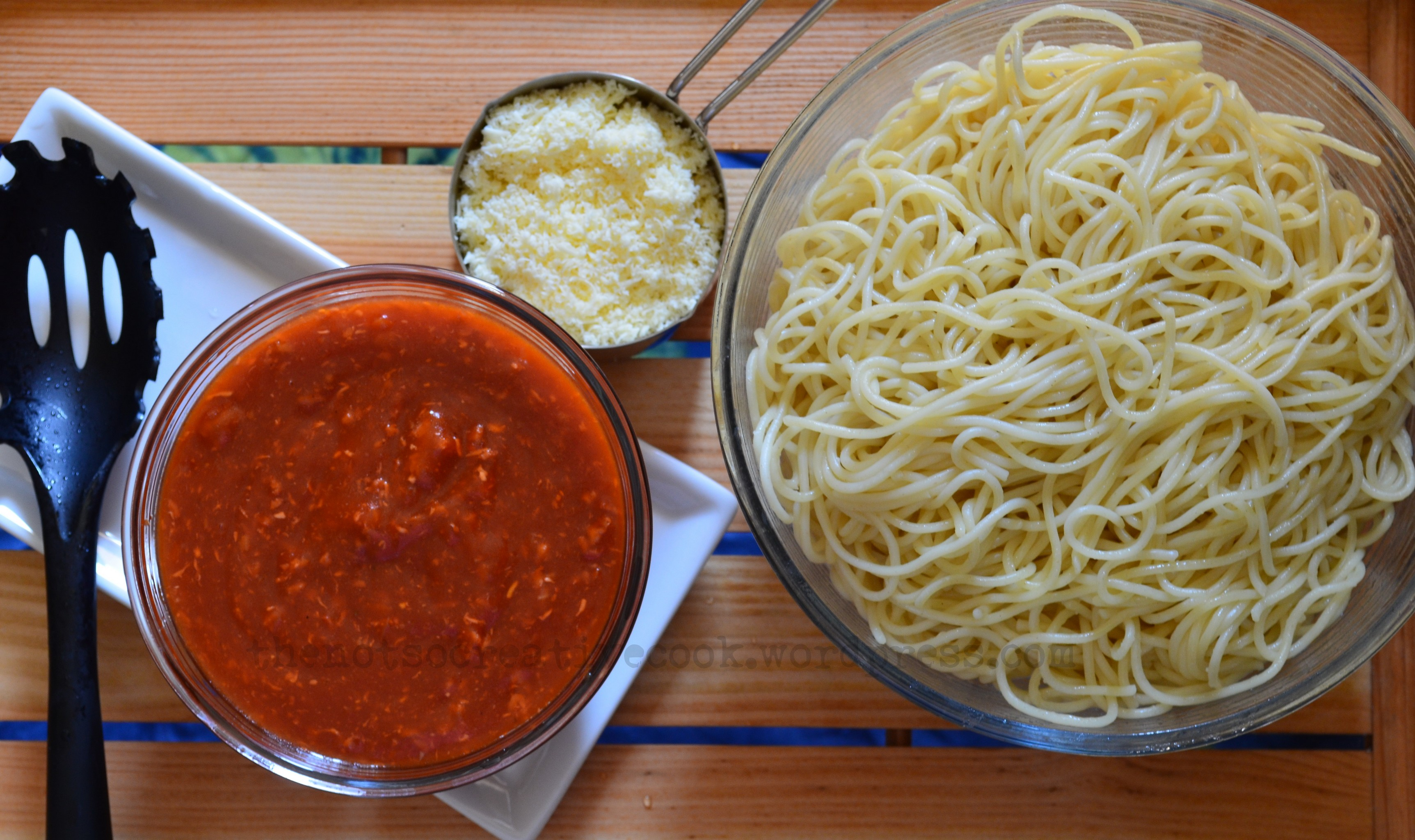 how to cook spaghetti without a stove