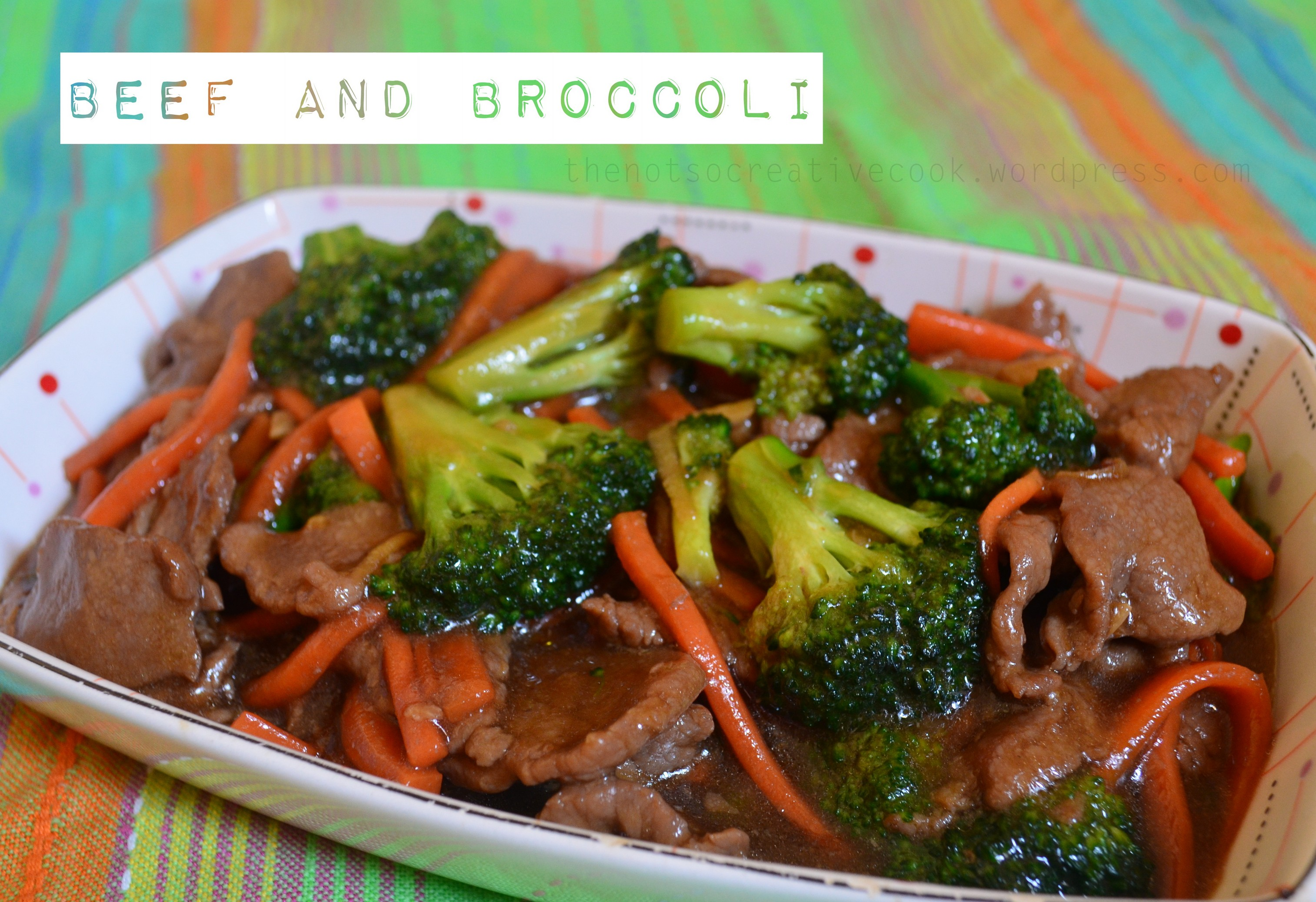 how to cook beef with broccoli filipino style