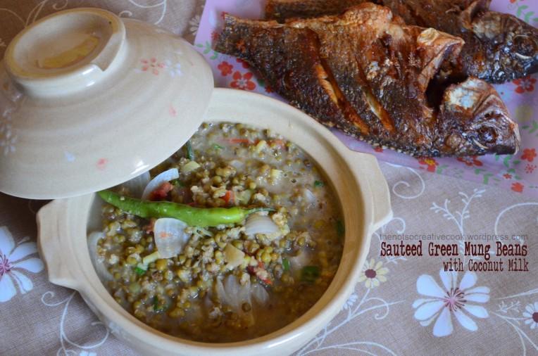 thenotsocreativecook.wordpress.com-Sauteed Green Mung Beans