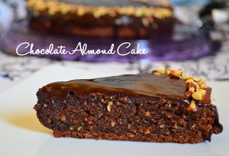 thenotsocreativecook.wordpress.com-Chocolate Almond Cake
