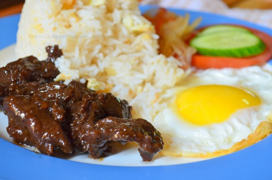 TAPSILOG (A Filipino Breakfast)