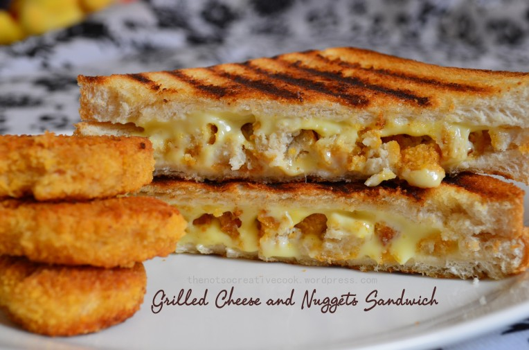 thenotsocreativecook.wordpress.com-GrilledCheese&NuggetsSandwich