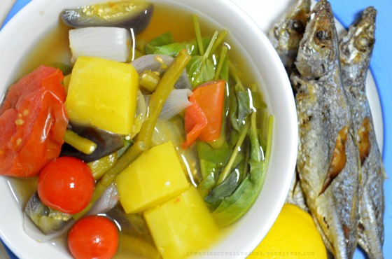 BULANGLANG: A Filipino Vegetable Dish
