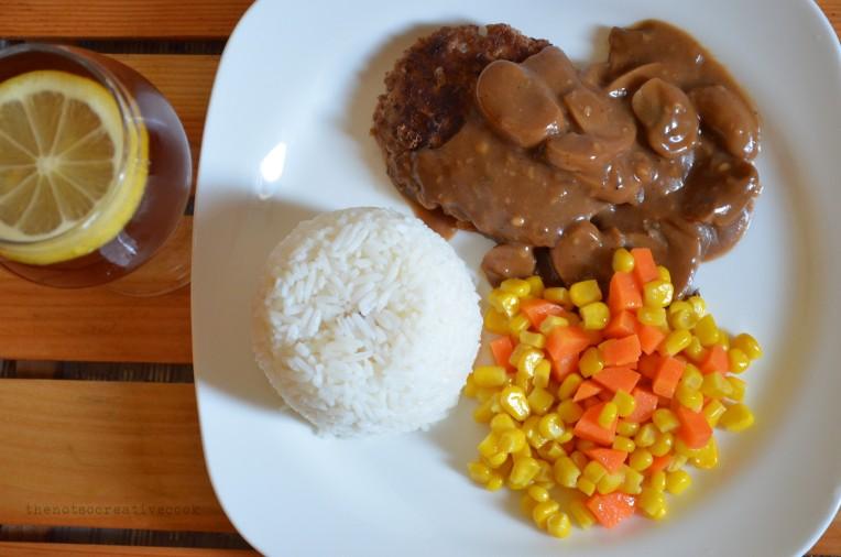thenotsocreativecook-BurgerSteak