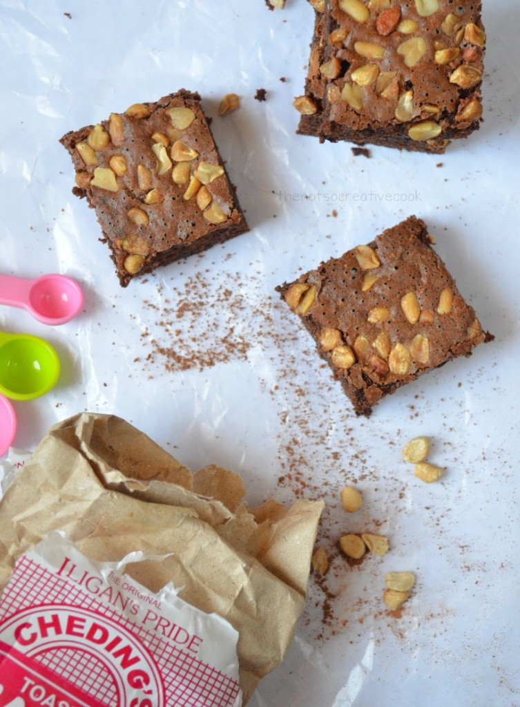 thenotsocreativecook-Nutty & Cakey Brownies4