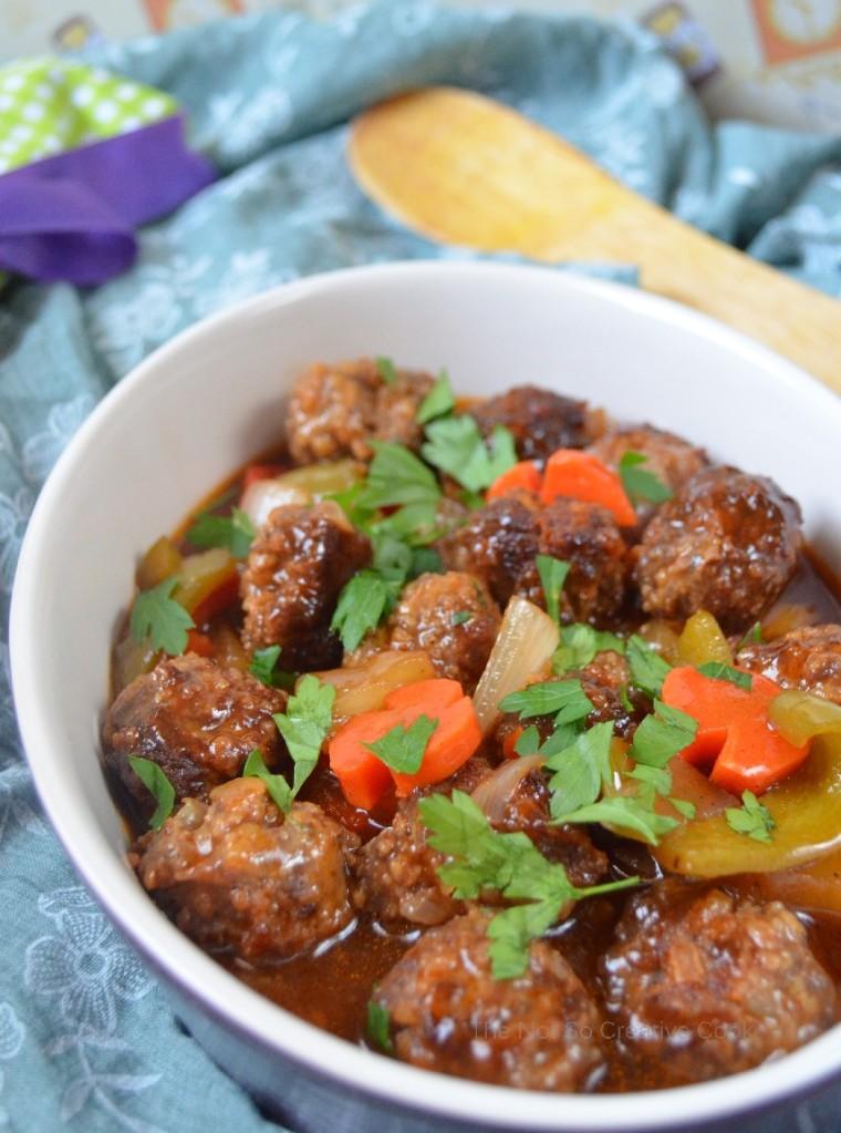 thenotsocreativecook-Sweet & Sour Meatballs 2