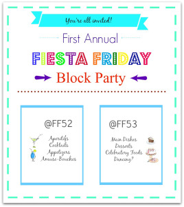 first fiesta friday anniversary invitation
