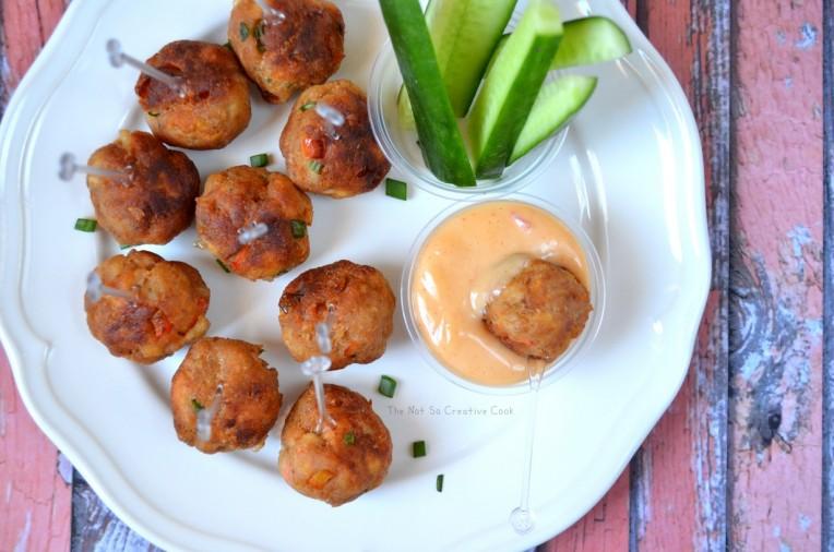 Sriracha Chicken Balls - TNSCC