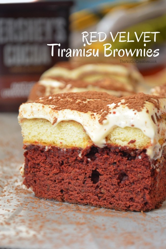 Red Velvet Tiramisu Brownies @ The Not So Creative Cook 1