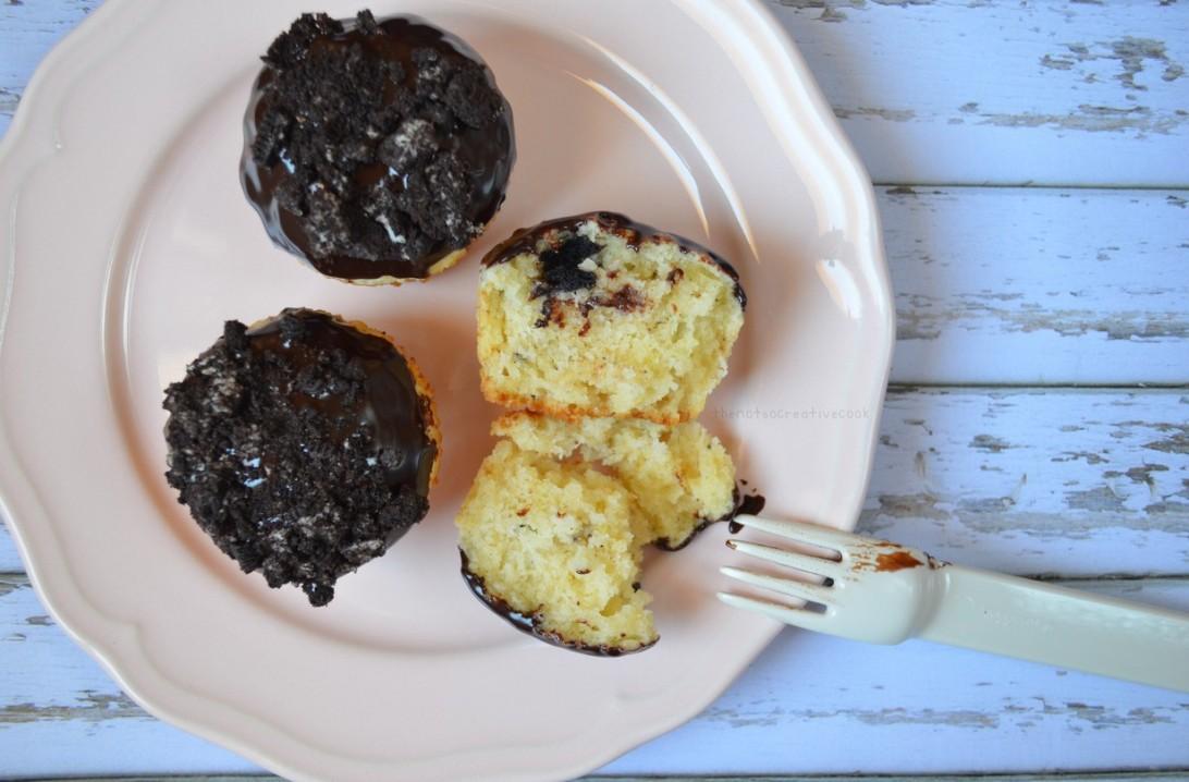Chocolate Covered Oreo Overload Muffins-TNSCC2