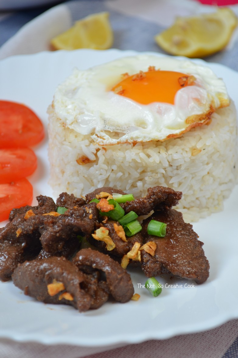 Beef Tapa - The Not So Creative Cook 2