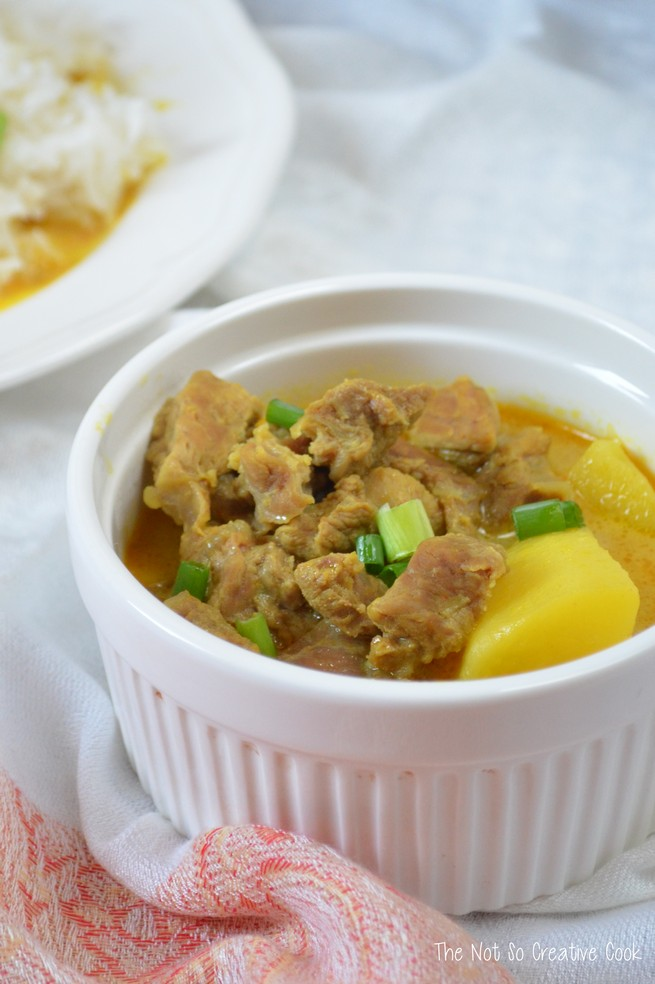 Beef Turmeric in Coconut Milk by The Not So Creative Cook 1
