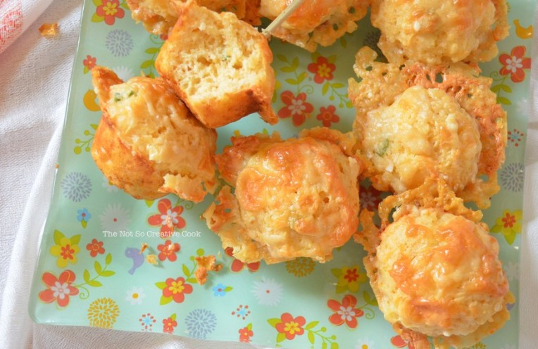 Gorgeous Tiny Cheese Muffins - The Not So Creative Cook 2