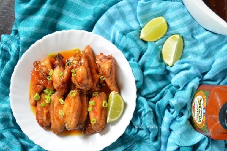 Sriracha Chicken Wings by TheNotSoCreativeCook