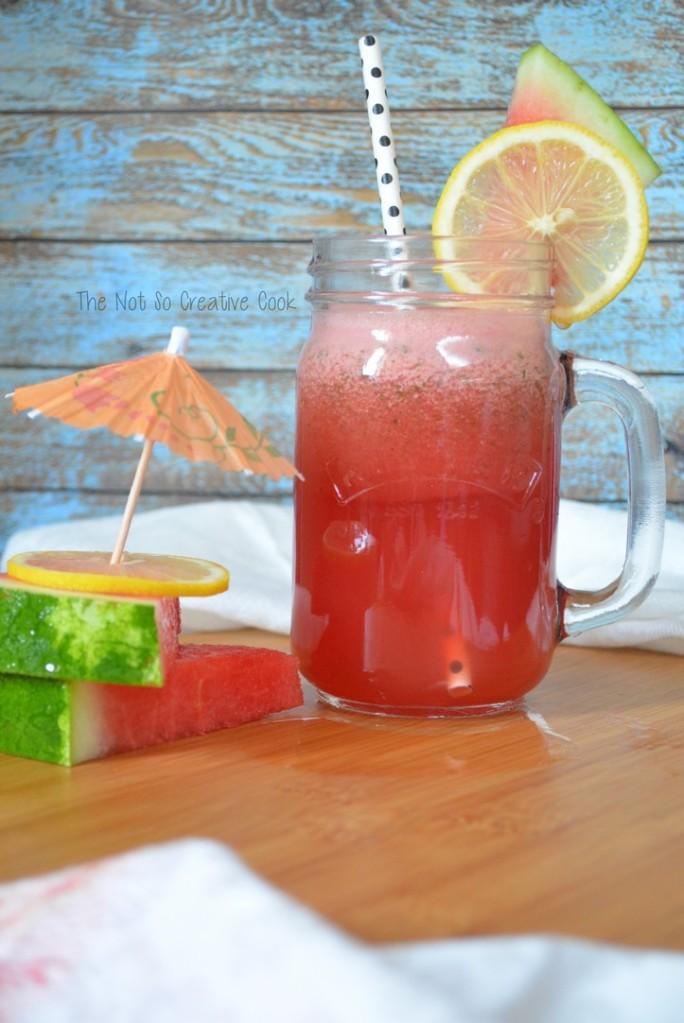 Watermelon Lemonade - The Not So Creative Cook