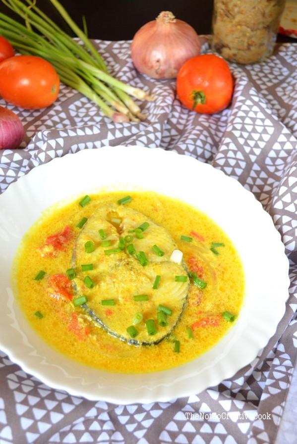 King Fish in Turmeric & Coconut Milk