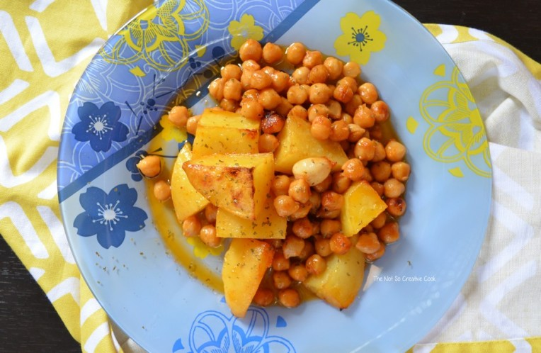 Lebanese Inspired Marinated Chickpeas & Potatoes - The Not So Creative Cook 4