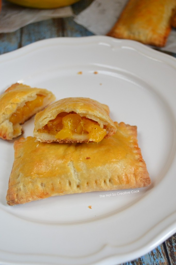 Peach Mango Pie-TheNotSoCreativeCook 2