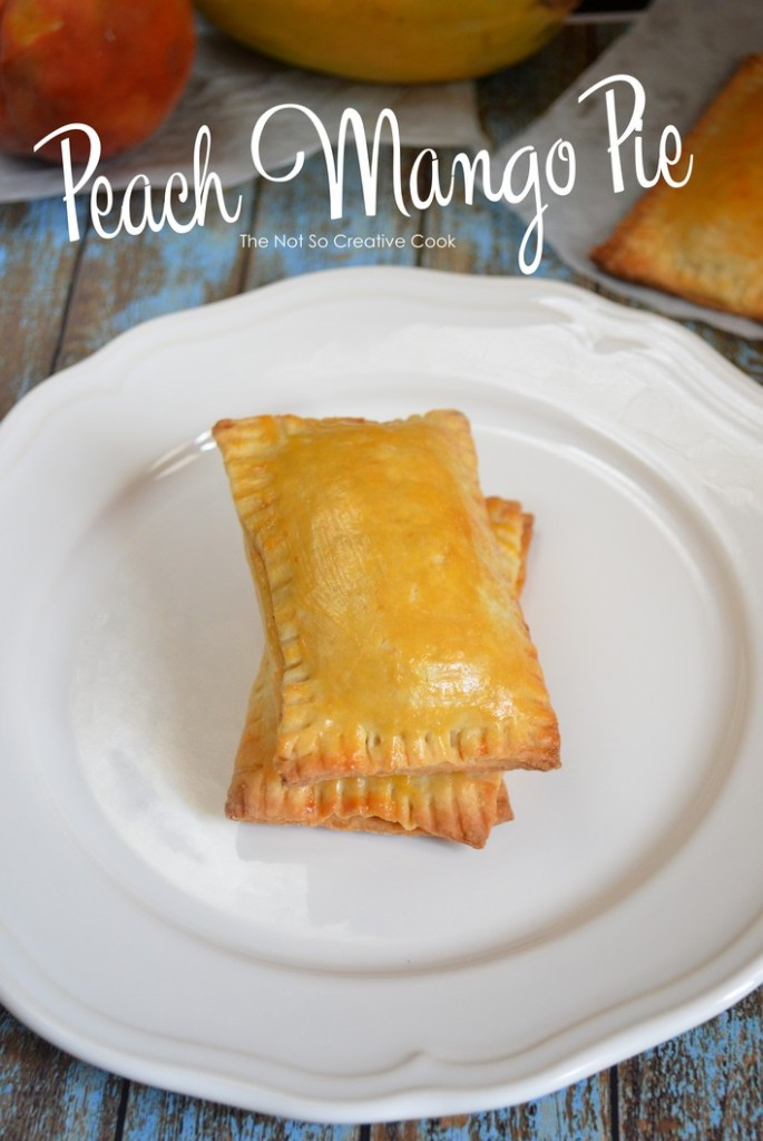 Peach Mango Pie-TheNotSoCreativeCook