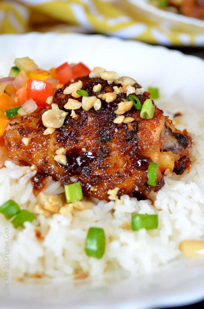 Sticky Spicy Chicken - The Not So Creative Cook 3
