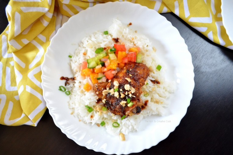 Sticky Spicy Chicken - The Not So Creative Cook 6