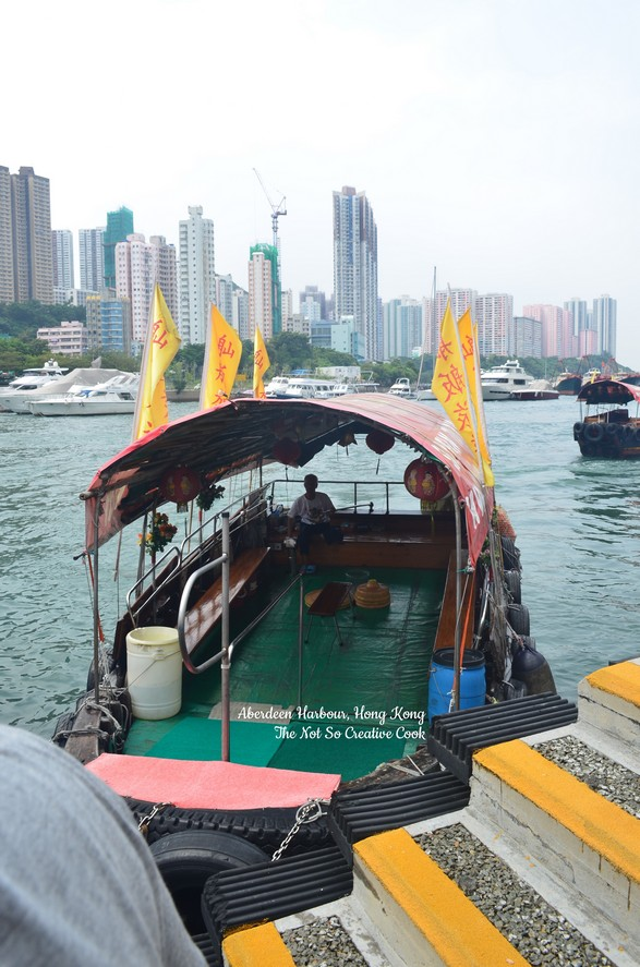 Our sampan ride