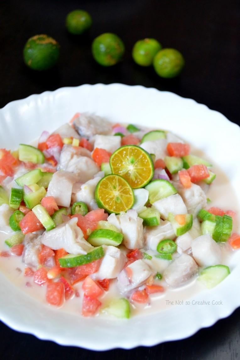 Kinilaw na Isda (Fish Ceviche)-TheNotSoCreativeCook 2
