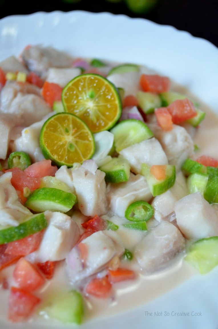 Kinilaw na Isda (Fish Ceviche)-TheNotSoCreativeCook