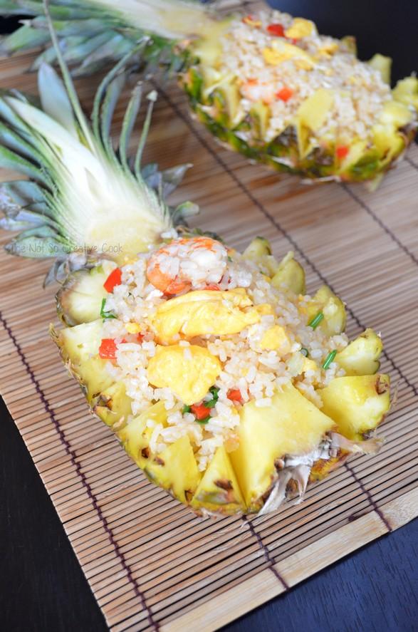 Pineapple Fried Rice - TNSCC