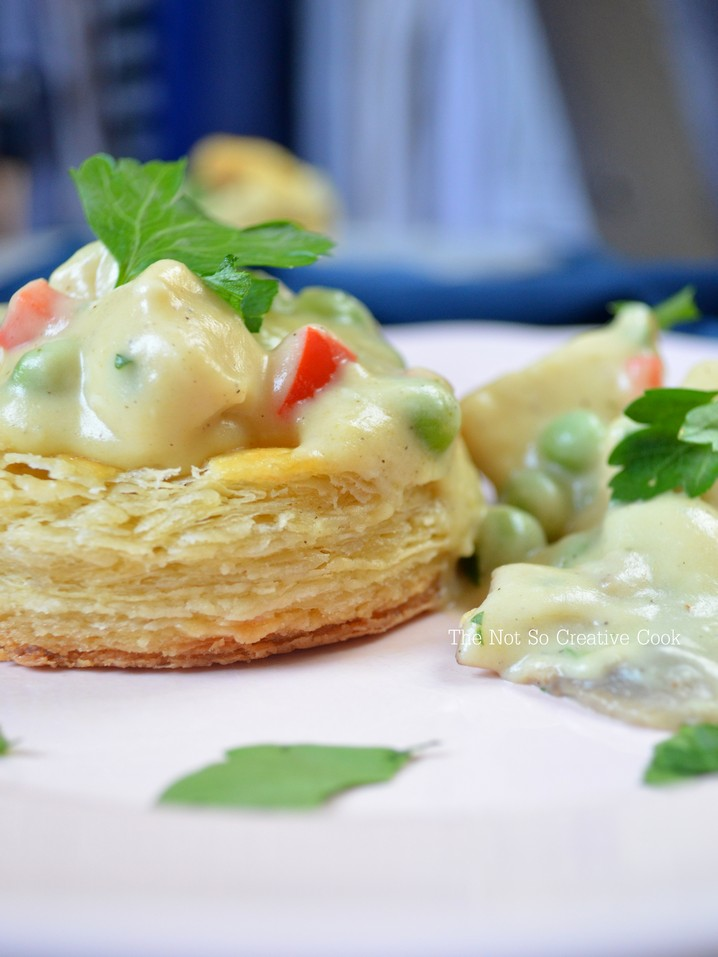 Chicken Ala King Vol Au Vents - TNSCC 4