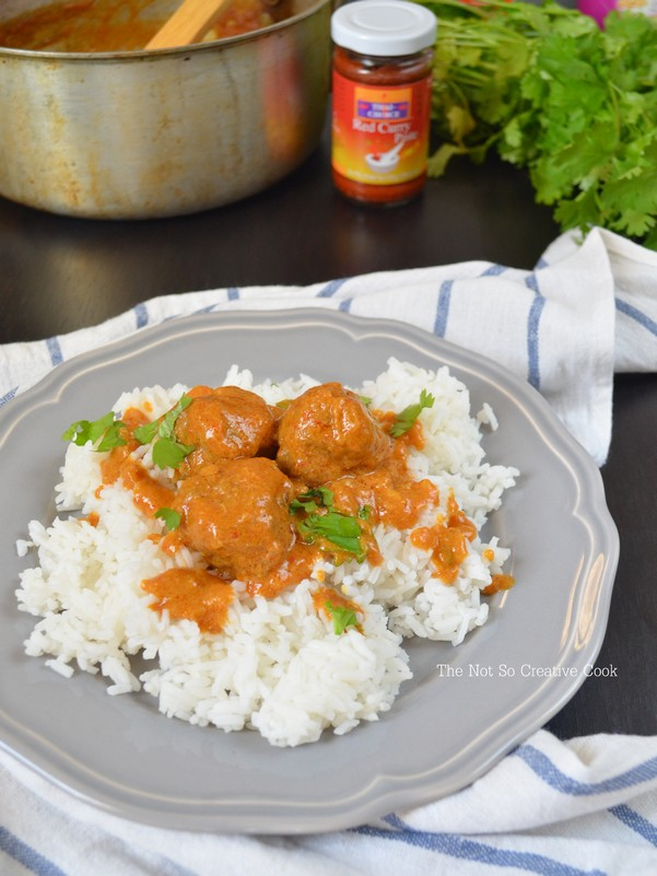 Meatballs in Nutty Coconut Curry Sauce - TNSCC 2