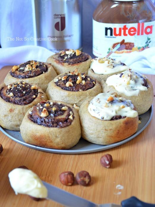 Nutella Espresso Sticky Buns - TNSCC 2