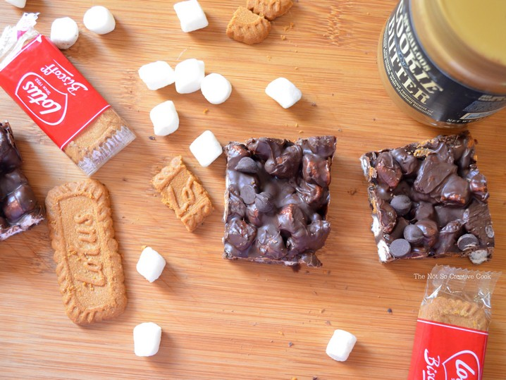 Speculoos Marshmallow Bars 2