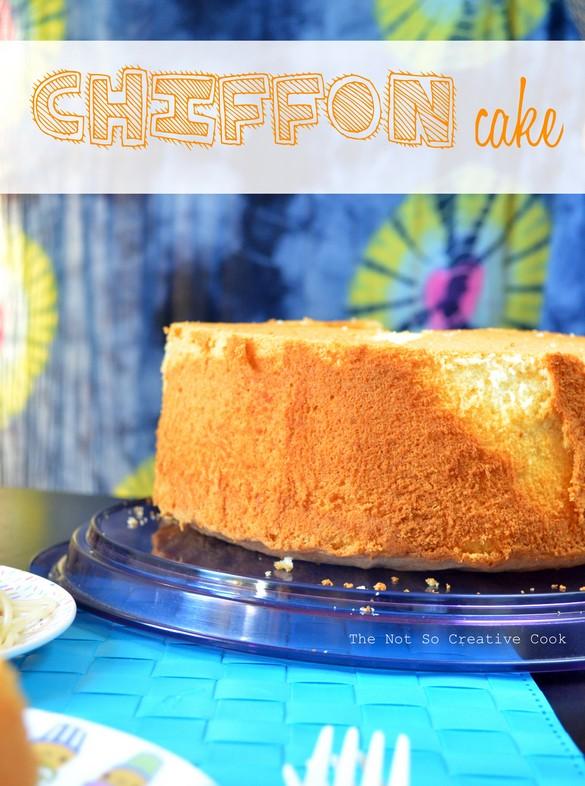 Chiffon Cake - TNSCC 4
