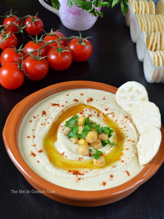 Easy Microwave Hummus - TNSCC 2
