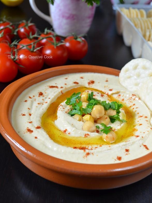 Easy Microwave Hummus - TNSCC