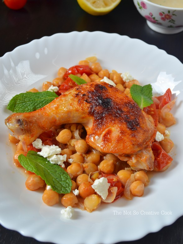 Harissa Roast Chicken with Chickpeas - TNSCC 2