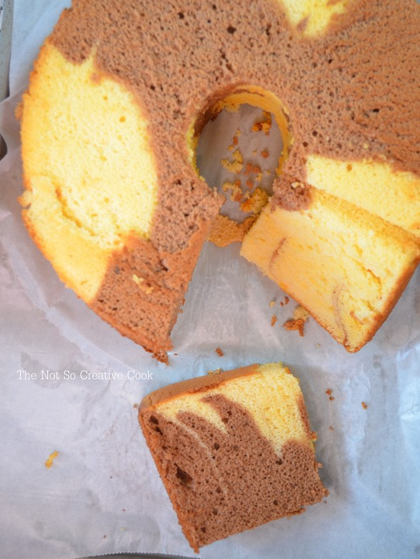 Marble Chiffon Cake - TNSCC 2