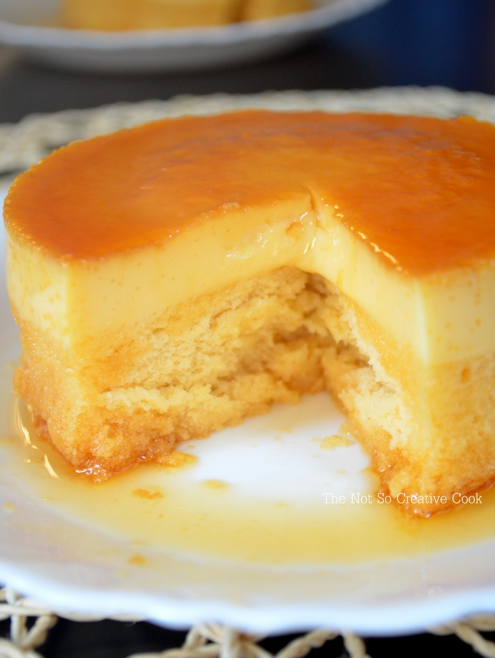 Sponge And Custard Cake Recipe