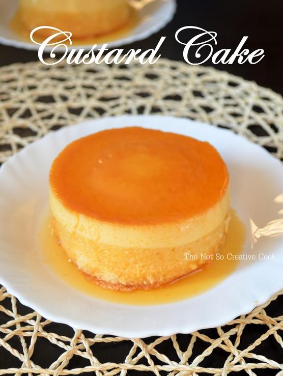 Custard Cake - TNSCC 3