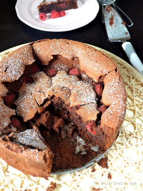 Flourless Chocolate & Raspberry Torte - TNSCC 2