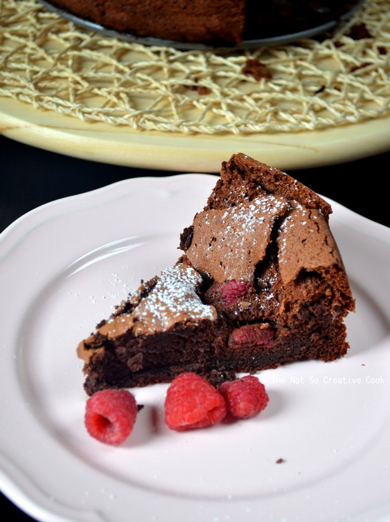 Flourless Chocolate & Raspberry Torte - TNSCC