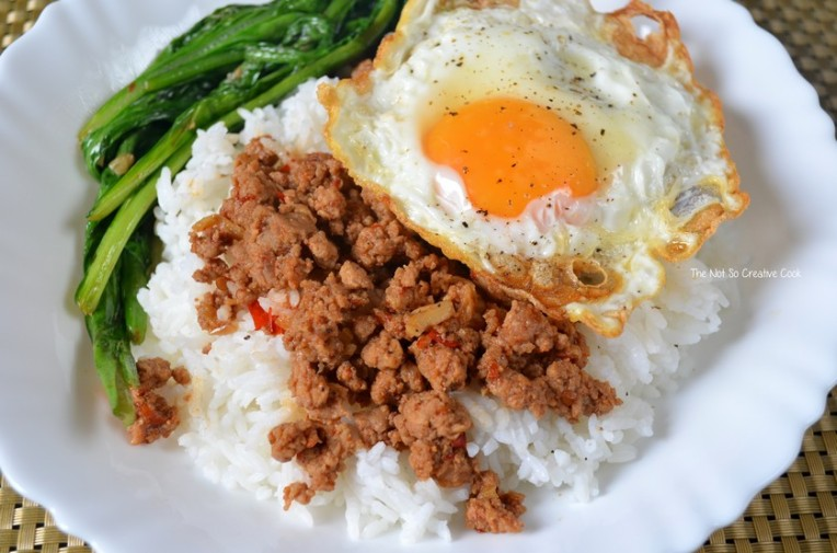 Sambal Minced Beef with Spinach - TNSCC 2