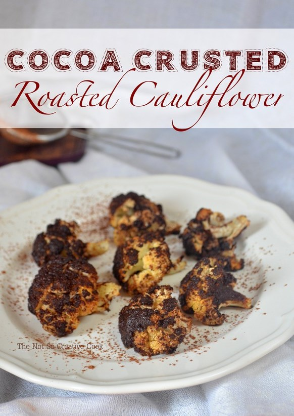 Cocoa Crusted Roasted Cauliflower - TNSCC 2