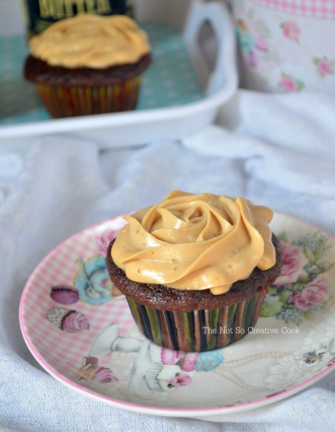 Mocha Cupcakes with Speculoos Cream Cheese Frosting - TNSCC 1