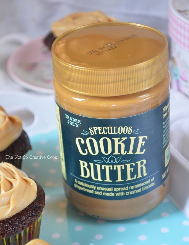 Mocha Cupcakes with Speculoos Cream Cheese Frosting - TNSCC 3