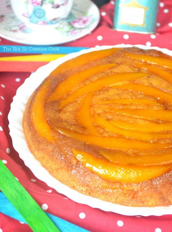 Mango Upside Down Cake - TNSCC 1