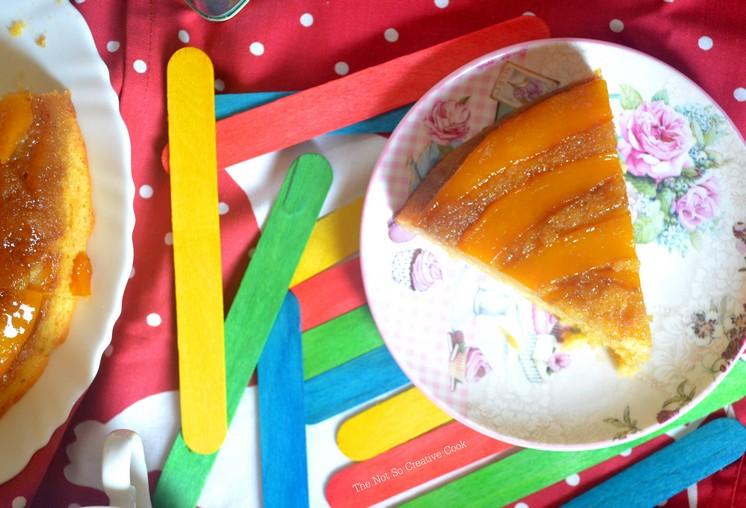 Mango Upside Down Cake - TNSCC 3