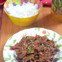 Spicy Korean Beef Stir-Fry